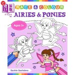 【中商海外直订】Fairies and Ponies (Trace and Colour): Tracing and