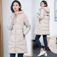 棉衣女2019冬装韩版修身外套中长款加厚时尚棉袄