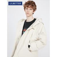 2.5折价:330;Lilbetter轻薄羽绒服男韩版潮流个性帅气羽绒衣防寒保暖男士外套