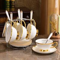 欧式咖啡杯套装骨瓷咖啡套具家用陶瓷小英式下午茶茶具套装