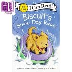 【中商原版】我可以读入门级:饼干的雪地比赛 英文原版 4~8岁分级