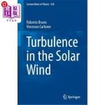 【中商海外直订】Turbulence in the Solar Wind