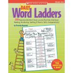 英文原版 每日单词阶梯练习,4-6年级 Scholastic 学乐出版社 Daily Word Ladders Gra