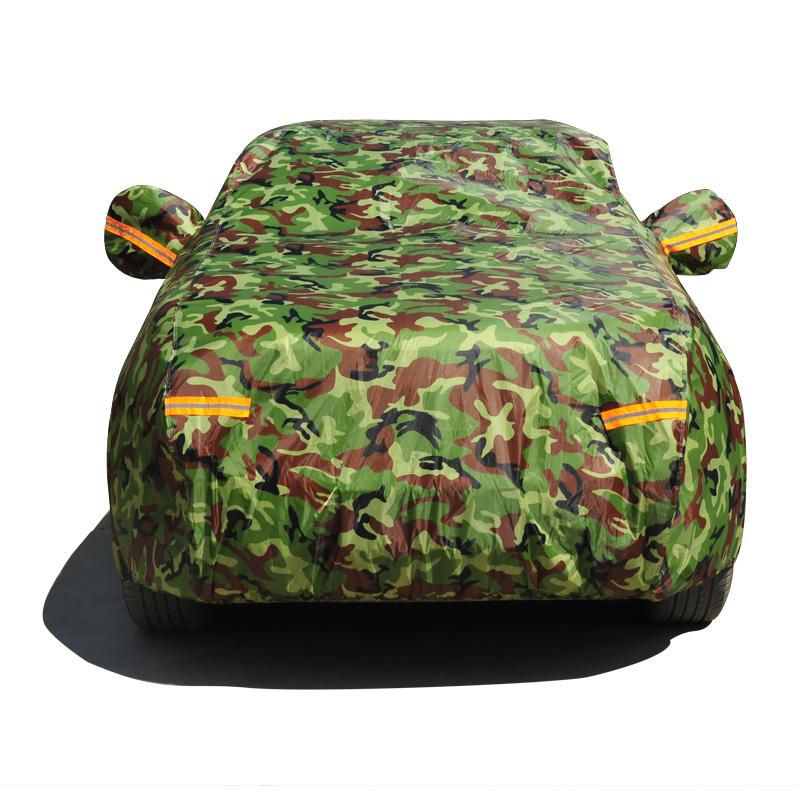 丰田卡罗拉威驰雷凌凯美瑞汽车车衣车罩防晒防雨隔热车套专用加厚