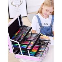 儿童水彩笔套装24色幼儿园画笔颜色笔可水洗安全36色彩笔小学生彩色笔软头画画笔美术用品女孩生日礼物12