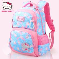 Hello Kitty凯蒂猫 KT1050粉蓝 韩版儿童书包女小学生书包 当当自营