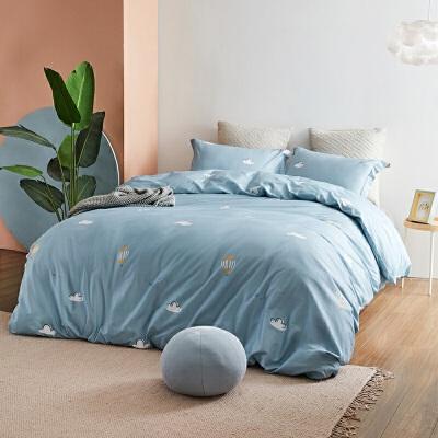 网易严选 不如睡觉·全棉印花四件套 2.0版 玩味元素设计,新增单人尺寸