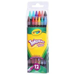 Crayola 绘儿乐 12色免削彩色铅笔 68-7408