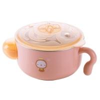 不锈钢儿童辅食碗宝宝餐具注水保温碗吃饭碗婴儿防摔辅食盒