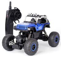山地遥控越野车 儿童摇控合金玩具车男孩 遥控汽车充电攀爬车 送电池