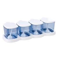 调味罐瓶厨房用品调料瓶调味盒味精盐罐套装组合家用收纳塑料