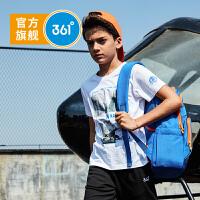 【下单立减】361度童装 男童T恤儿童短袖2019夏季新品驯龙高手IP款舒适短袖上衣K51922205