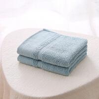 当当优品提缎毛巾 纯棉天然植物染色面巾34*74cm 灰绿