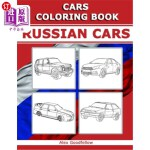 【中商海外直订】Cars coloring book: Russian Cars