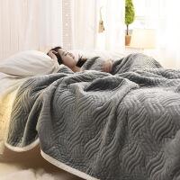毛毯加厚珊瑚绒毯子薄被子盖毯法兰绒冬季空调毯午睡毯单双人床单