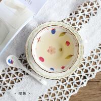 欧式咖啡杯套装家用陶瓷杯子英式茶具花茶杯下午茶杯子带勺