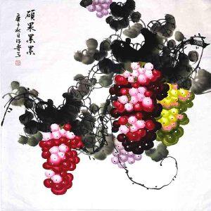 *美术师,河南省美协会员,中国书画名家理事会理事许鲁(硕果累累)1