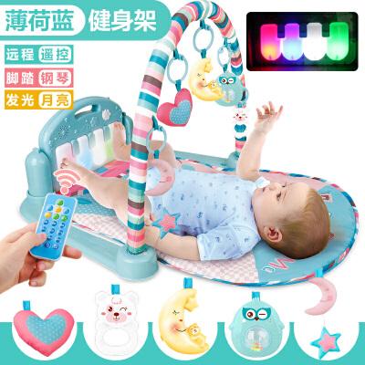婴儿脚踏钢琴健身架器0-1岁新生宝宝玩具6cc9XNNe