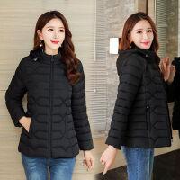 2019年冬天外套女小棉袄短款冬装女修身时尚棉衣女装 XL 时候85-96斤