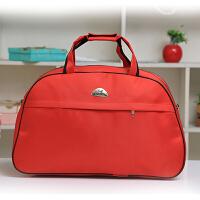 旅行包 容量女旅游包防水行李袋子短途商务出差包斜跨牛津布包