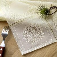 餐桌布防水茶几垫田园桌布pvc塑料台布防水防油防烫桌垫床头柜