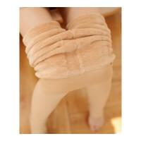 秋冬加绒加厚肉色打底裤连裤袜光腿神器显瘦单层肤色一体保暖裤