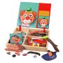 女童幼儿园礼物2宝宝益智力玩具儿童拼图磁性1-3-6周岁4男孩