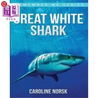 【中商海外直订】Great White Shark: Amazing Photos & Fun Facts Book