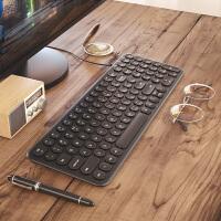 复古有线键盘无线家用游戏联系笔记本台式机电脑办公打字专用静音usb外接
