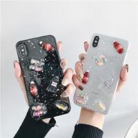 ins胶囊小人8plus苹果X/XS手机壳iPhoneXS Max/XR/6S/7硅胶软壳潮iPhone11 Pro M