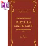 【中商海外直订】Rhythm Made Easy Vol. 1: 100 Progressive and Practi