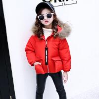 儿童短款棉衣2018新款中大童韩版保暖棉袄女孩外套