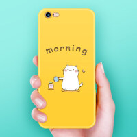 iphone6手机壳挂绳苹果6plus硅胶防摔全包超薄女款6s个性创意卡通