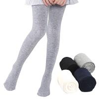 女童连裤袜春秋季薄款儿童打底裤练功长筒袜中厚白色舞蹈袜子
