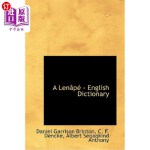 【中商海外直订】A Lenapé - English Dictionary