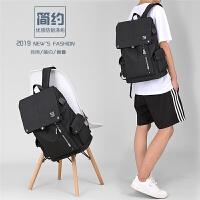 男士双肩包大学生大容量旅行背包高中初中学生书包男时尚潮流