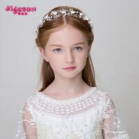 儿童发饰公主发箍可爱仿珍珠头饰 女孩配饰头箍手工演出发带