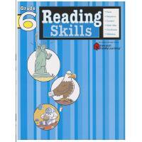 【现货】英文原版 Flash Kids 阅读技能:6年级 Reading Skills, Grade 6 哈考特 97