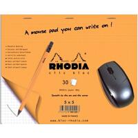 法国罗地亚Rhodia鼠标垫本┃方格本┃办公达人 适合苹果鼠标使用