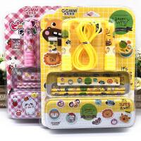 笔盒文具套装幼儿园小学生创意文具套餐组合礼盒礼物奖品学习用品