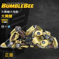 大�S蜂拼�D3D金�僮�形6玩具汽��C器人超大合金模型5定制