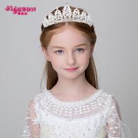 儿童发饰夹皇冠头饰女孩王冠发箍头箍发卡配饰