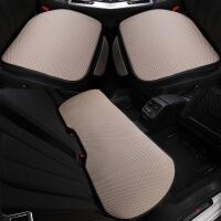 汽车坐垫夏季凉垫冰丝单片夏天制冷透气单个单座无靠背三件套