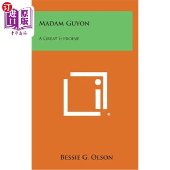 【中商海外直订】Madam Guyon: A Great Heroine