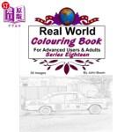 【中商海外直订】Real World Colouring Books Series 18