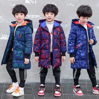 儿童棉服外套2018新款秋冬季中长款男孩棉袄加厚冬季