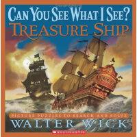 Can You See What I See?: Treasure Ship 眼力大考验系列: 宝藏船 ISBN978