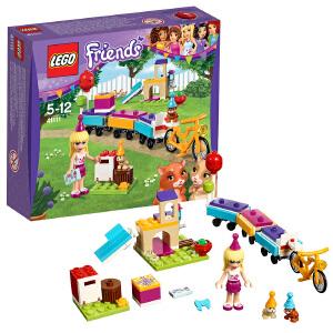 [当当自营]LEGO 乐高 好朋友系列 宠物派对小火车 积木拼插儿童益智玩具 41111