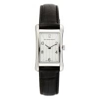 巴宝莉(BURBERRY)手表 黑色皮带英伦风情 休闲时尚商务石英女士腕表白色BU3003