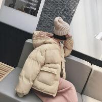 棉衣女短款2019冬装韩版ins面包服宽松bf学生棉袄外套女